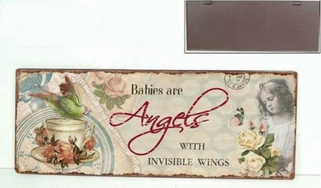 "La Finesse Skilt "" Angel """