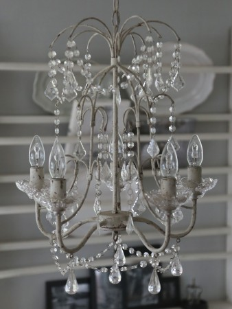 Chic Antique Lysekrone