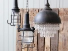 "Chic Antique ""Factory"" Nettlampe thumbnail"