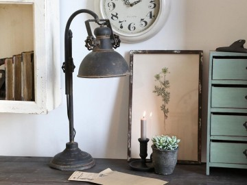 "Chic Antique ""Factory"" Bordlampe"